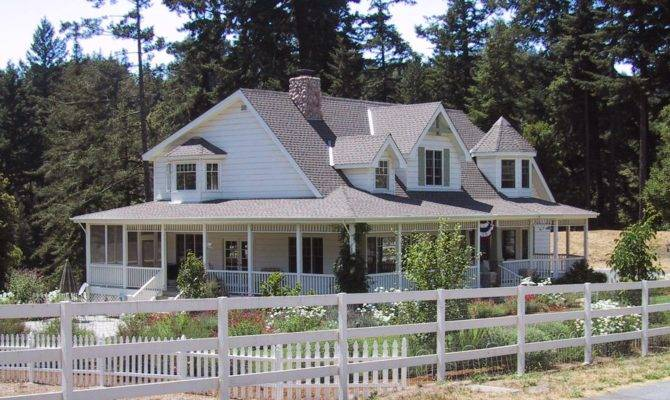 Simple House Plans Wrap Around Porches