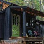 Simple Living Tiny Cabin Bedroom Porch