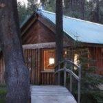 Simple Log Cabin Living Near Yosemite Tiny House Pins