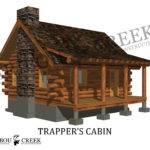 Simple Log Cabin Plans Home Linkie