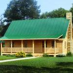 Simple Log Home Plans Small Cabin Kits Southland