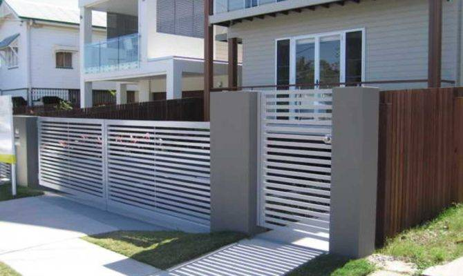 Simple Modern Gate Designs Collection Attractive