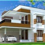 Simple Modern Home Design Square Feet Kerala