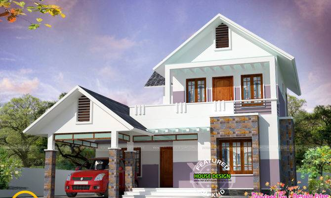 Simple Modern House Kerala Home Design