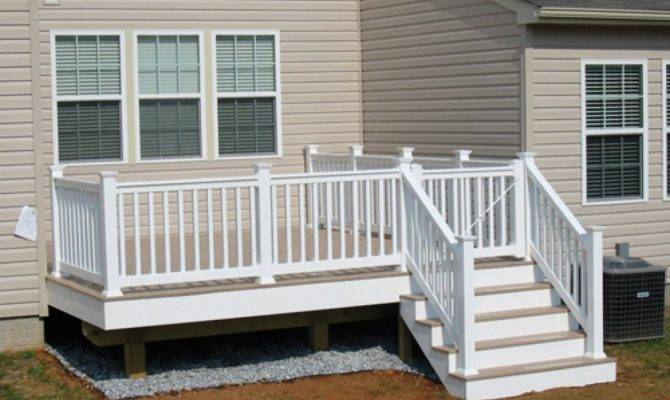 Simple Porch Design Small Deck Ideas