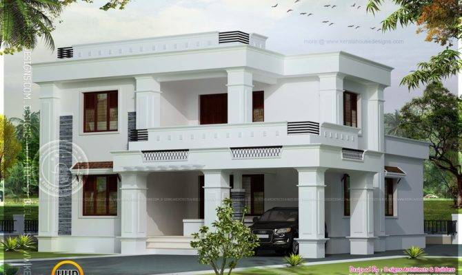 Simple Roof House Plans
