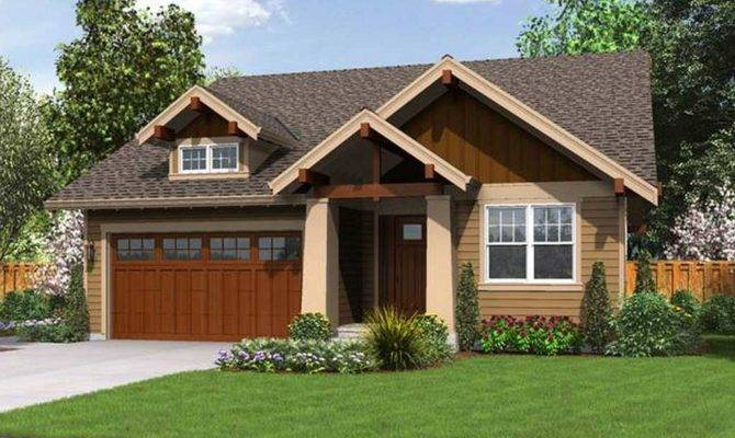 Simple Small Craftsman House Plans Exterior