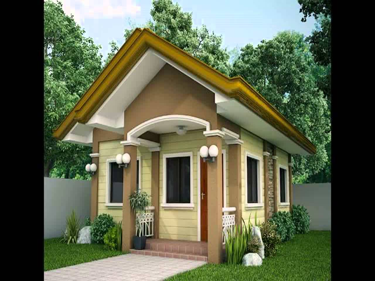 Simple Small Home Design Photos Youtube Home Plans Blueprints 125592