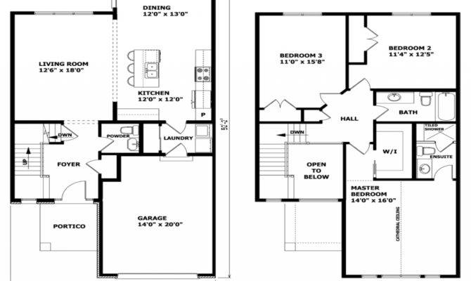 Simple Storey House Plans Home Deco