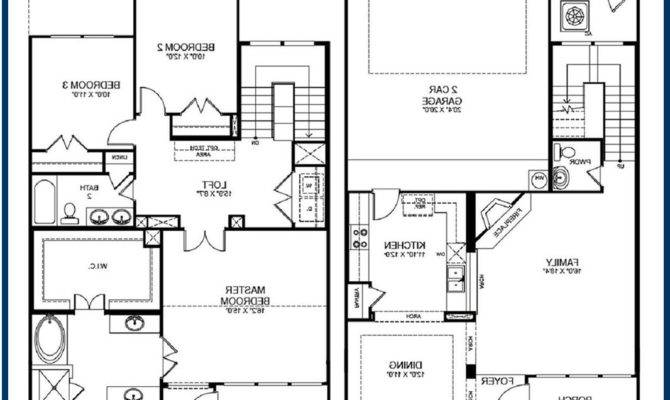 Simple Story Bedroom House Plans