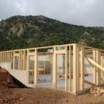 Simple Walkout Basement Foundation Design Placement Home