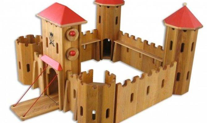Simple Wooden Castle Plans Ideas Home Building