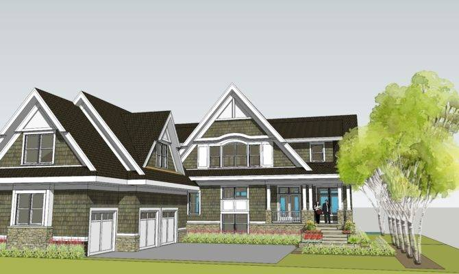 Simply Elegant Home Designs Blog Shingle Style Lake