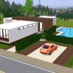 Sims Blog Estrela Modern Lout Houses