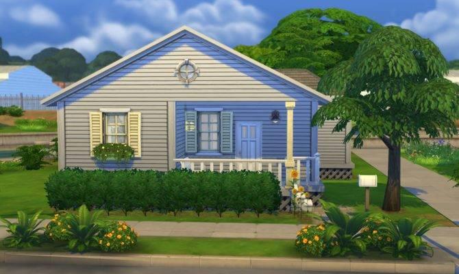 Sims Blog Sunflower Cottage Starter Home Tiki