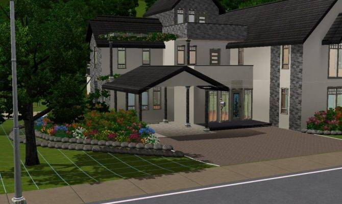 Sims Building Large Home Youtube