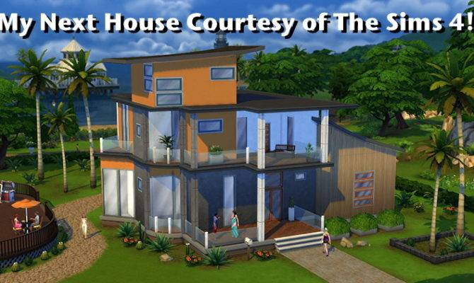 Sims Cool House