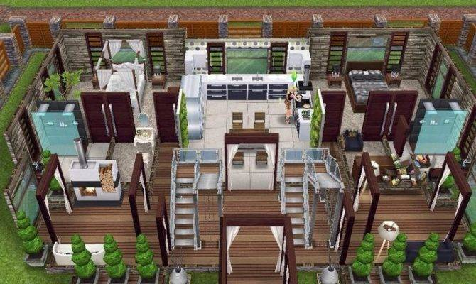 Sims Freeplay House Plans Beautiful