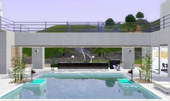 Sims Home Design Sim House Mix Modern Style