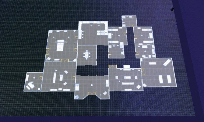 Sims House Blueprints Entrance Blueprint