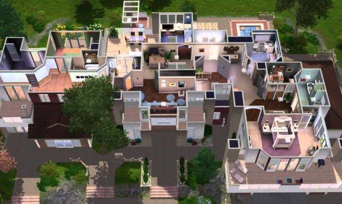 Sims House Building Premactra Youtube