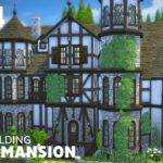 Sims House Building Tudor Mansion Youtube