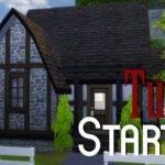 Sims House Building Tudor Starter Youtube