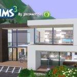 Sims House Designs Modern Villa Youtube