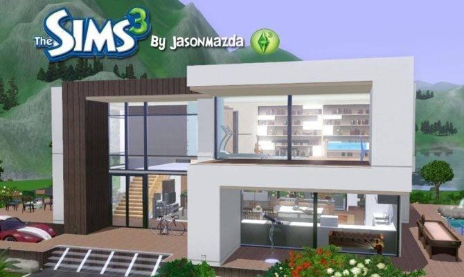 Sims House Designs Modern Villa Youtube