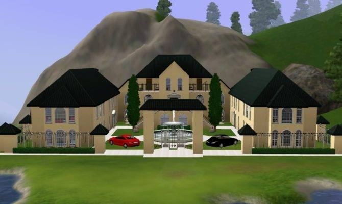 Sims House Ideas Mansion