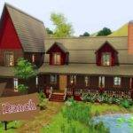 Sims Houses Outback Ranch