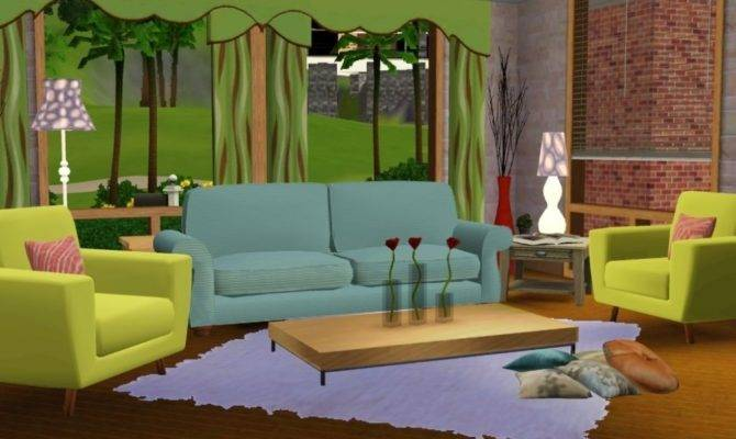 Sims Living Room Designs Accion Within