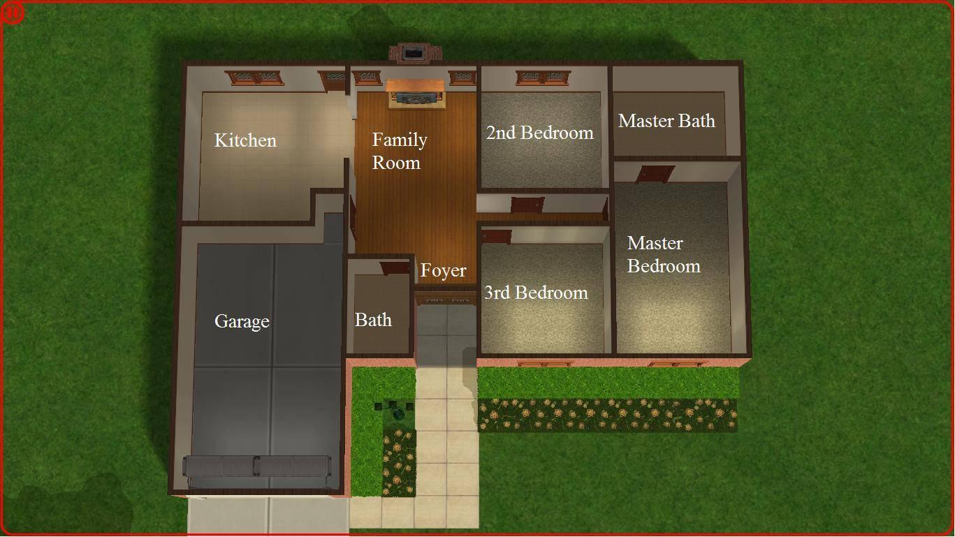 Sims Lot Home Plans Blueprints 86337