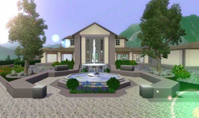 Sims Mansion Design Ranch Custom Content Doovi