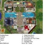 Sims Mansion Floor Plan Houses House Plans