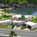 Sims Mansion Ideas House Designs Xbox Modern Home Design