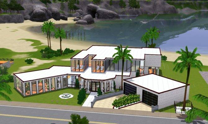 Sims Mansion Ideas House Designs Xbox Modern Home Design