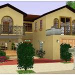 Sims Mansion Savanna