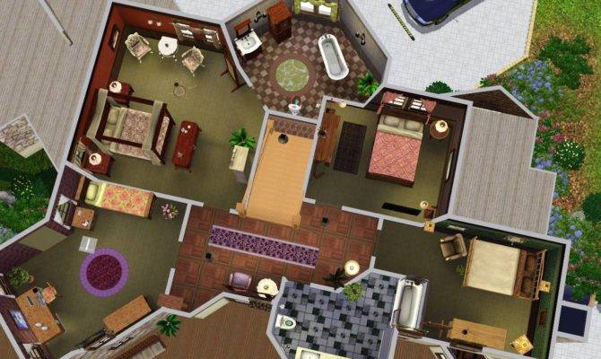 Sims Mansions Floor Plans