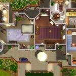 Sims Mansions Inside Mod Alcester House