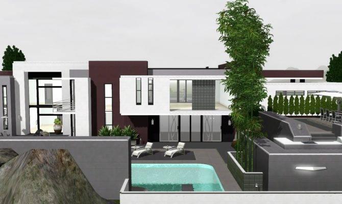 Sims Modern Celebrity House Youtube