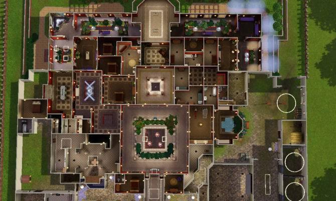 Sims Modern House Floor Plan