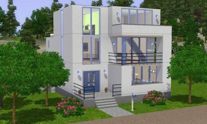 Sims Modern House Ideas Plan