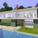 Sims Modern House Plans Storey Design Plan