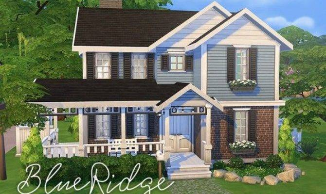 Sims Resource Blue Ridge House Smubuh
