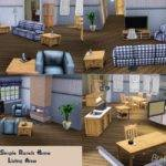 Sims Simple Ranch Home
