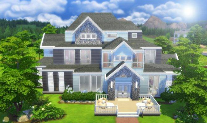 Sims Speed Build Large Home Youtube
