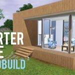 Sims Speed Build Starter Home Base Game Only Youtube