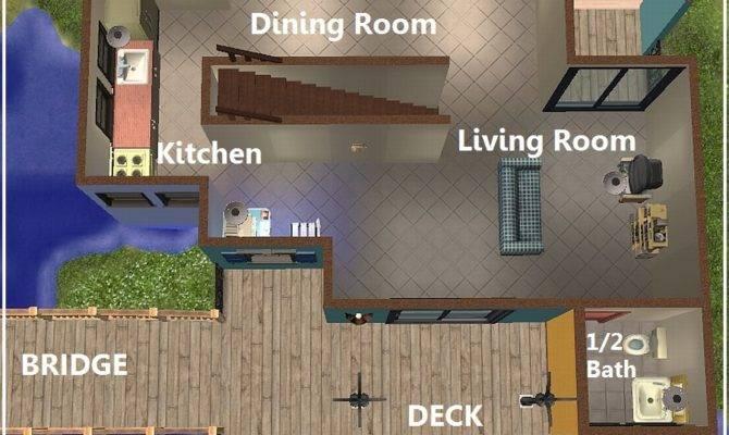 Sims Starter Home Floor Plans