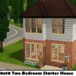 Sims Starter House Blueprints